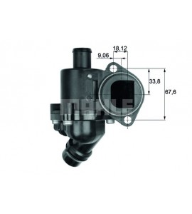 Thermostaathuis compleet Mahle 06B121111L