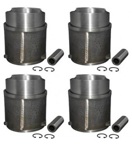 Big bore zuiger en cilinder kit, 95.5 mm, slip in type. Aanpassing 2.1 naar 2.2 L  025198075D (AA)