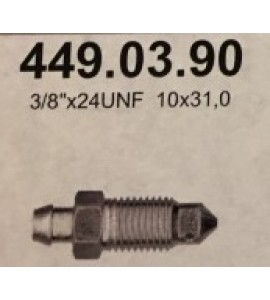 "Ontluchtingsschroef 3/8""x24UNF,  10x31,0"