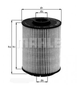 Oliefilter 021115562A MAHLE OX 160D