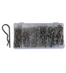 Assortiment R Clips, (150 delig) BGS8043