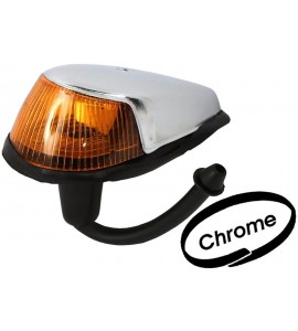 Knipperlicht Kever, spatbord montage, met rubber pakking, links/rechts, chrome 113953041J